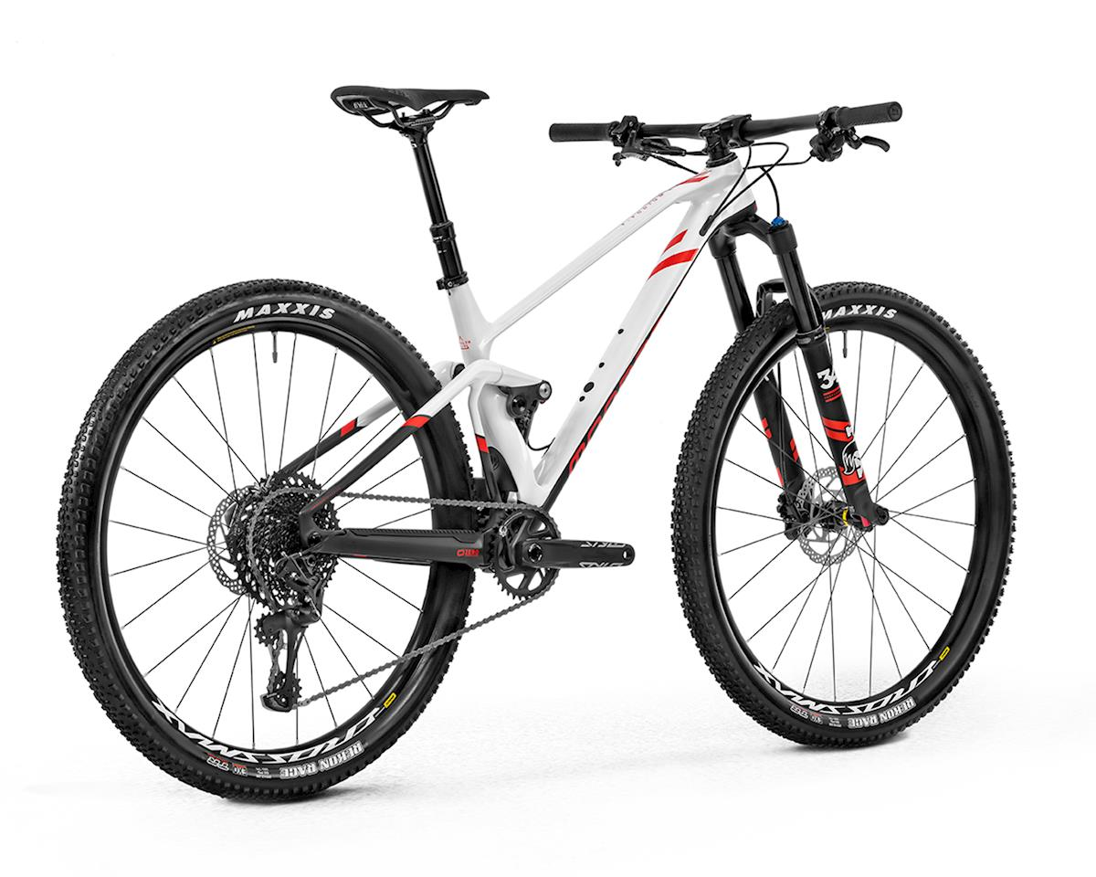 Image 2 for Mondraker F-PODIUM DC CARBON R XC Race Bike (White/Carbon/Flame Red) (S)