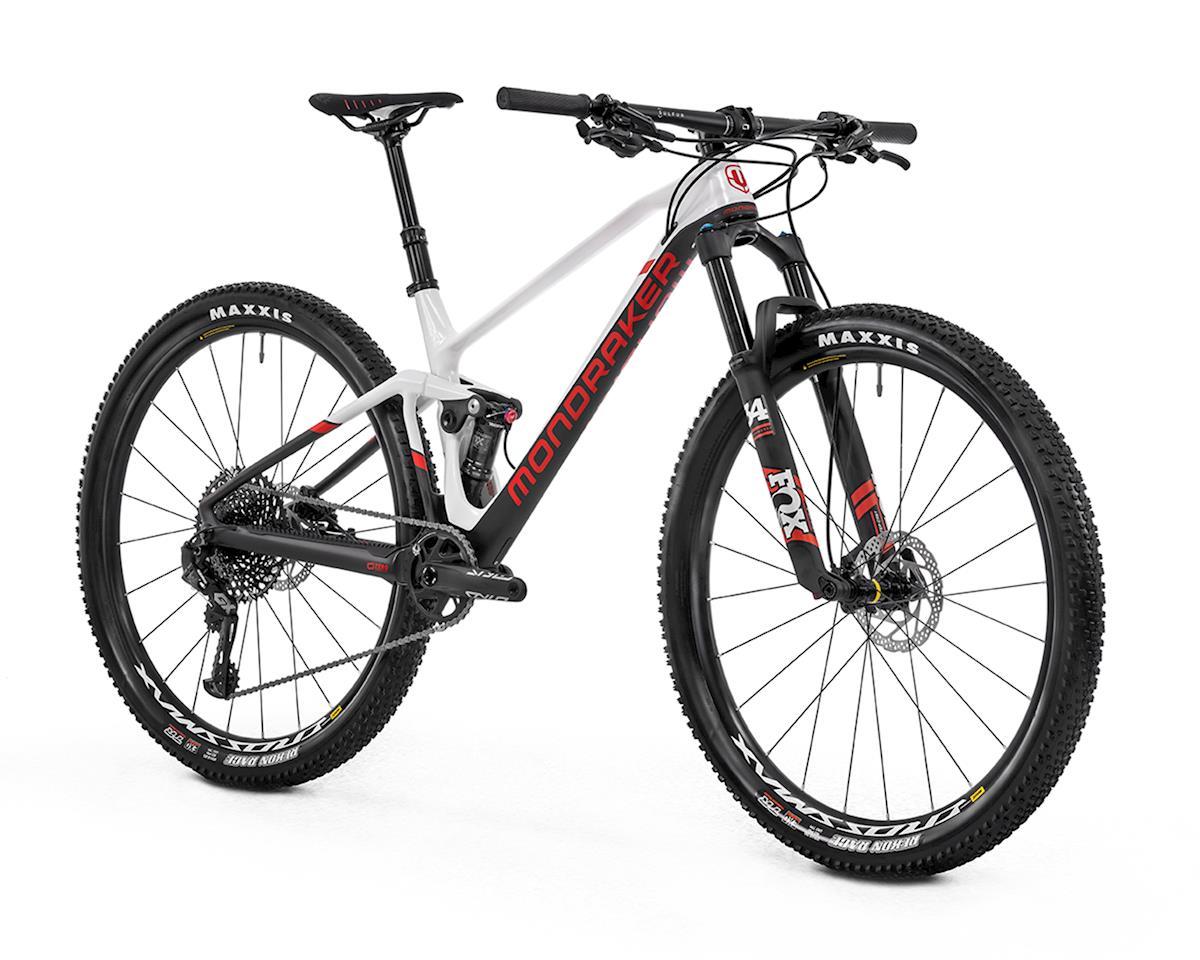 Image 3 for Mondraker F-PODIUM DC CARBON R XC Race Bike (White/Carbon/Flame Red) (M)