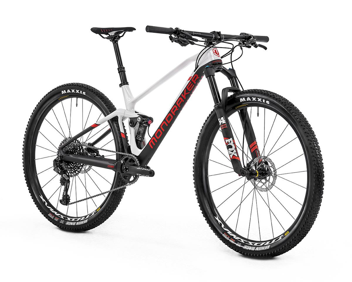 Image 3 for Mondraker F-PODIUM DC CARBON R XC Race Bike (White/Carbon/Flame Red) (L)