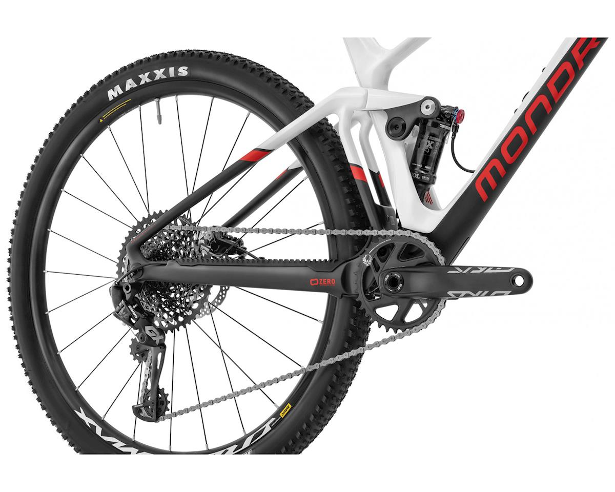 Image 6 for Mondraker F-PODIUM DC CARBON R XC Race Bike (White/Carbon/Flame Red) (L)