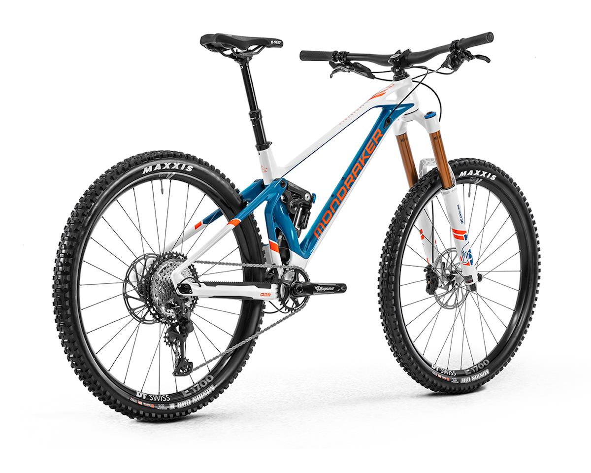 Image 2 for Mondraker SUPERFOXY CARBON R Super Enduro Bike (White/Petrol/Fox Orange) (XL)
