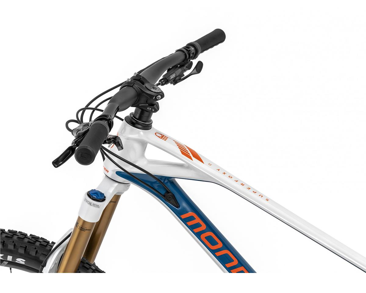 Image 4 for Mondraker SUPERFOXY CARBON R Super Enduro Bike (White/Petrol/Fox Orange) (XL)