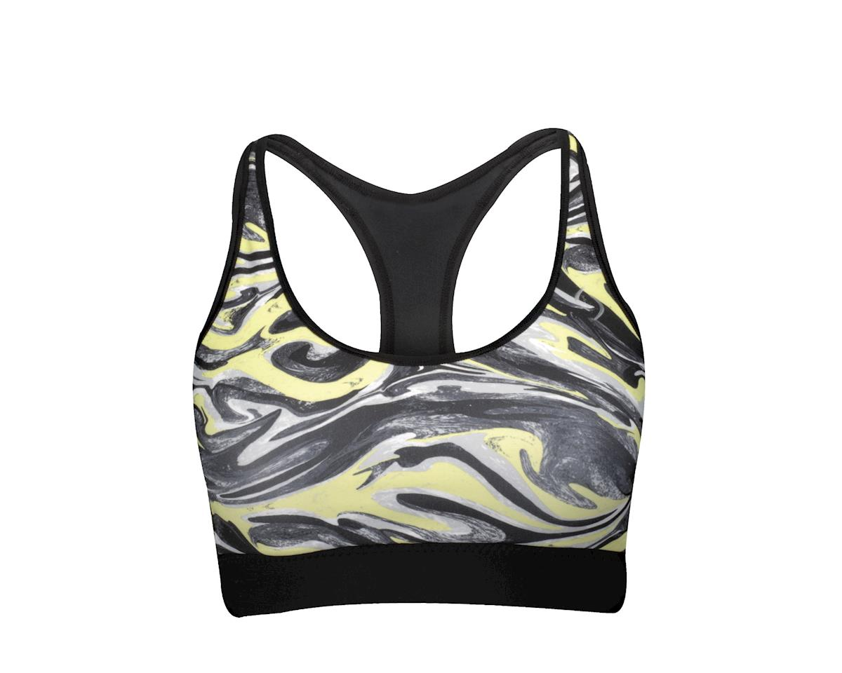 Moving Comfort Women's Switch It Up Racer Sports Bra (Black)