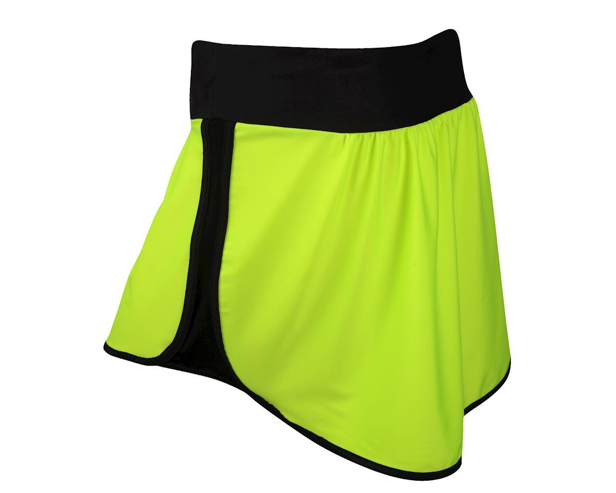 Moxie Women's High Vis Versa Skirt (Matte Black/High Vis)
