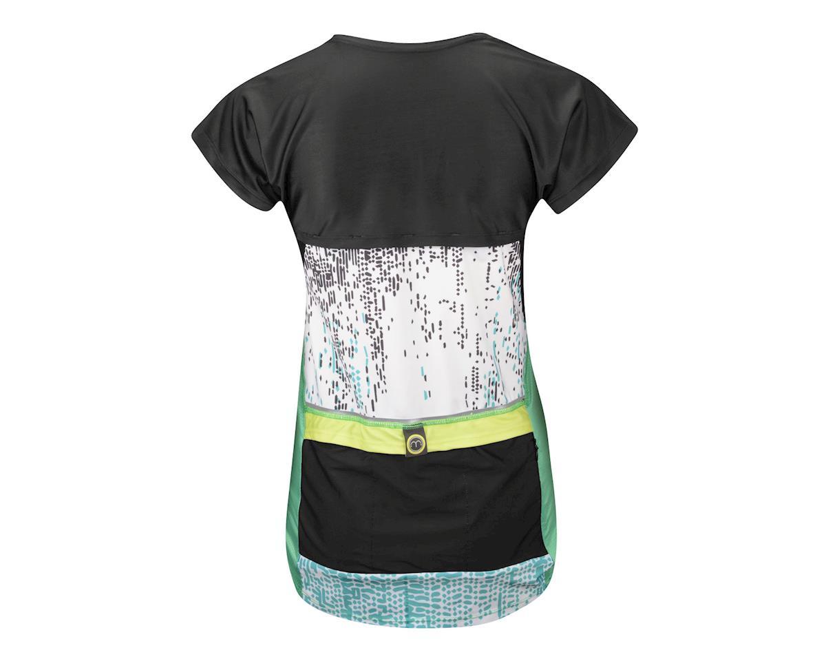 Moxie Women's Revolution Wrap Jersey (Black/Blue)