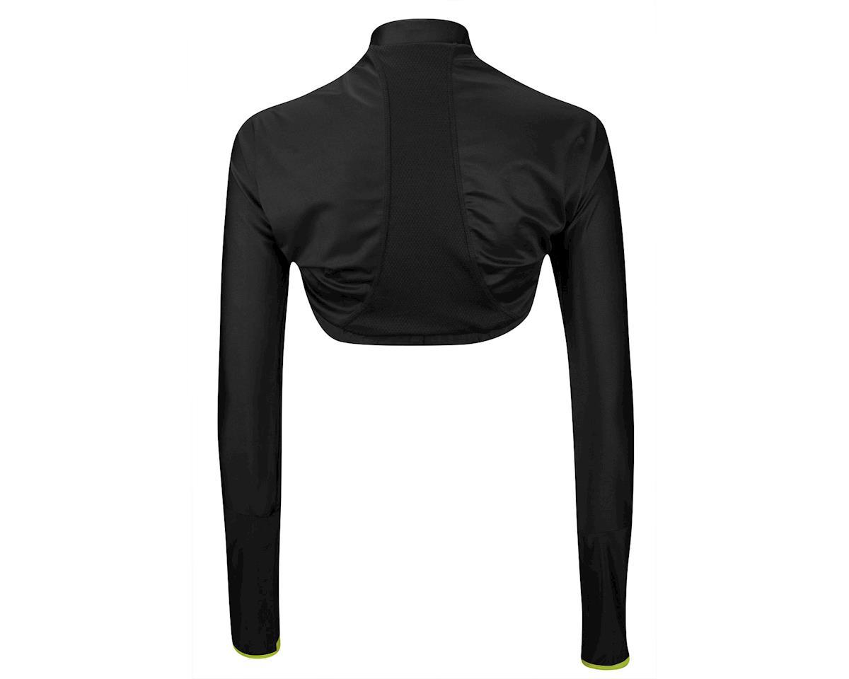 Moxie Women's Poly Bolero Jacket (Matte Black/High Vis) (Xxlarge)
