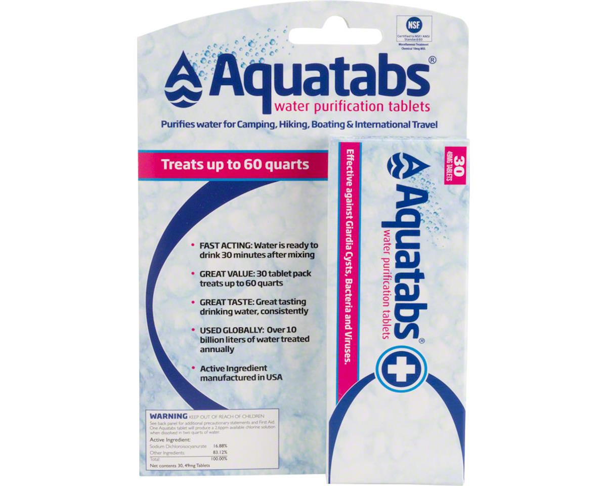 MSR Aquatabs Water Purification Tablets
