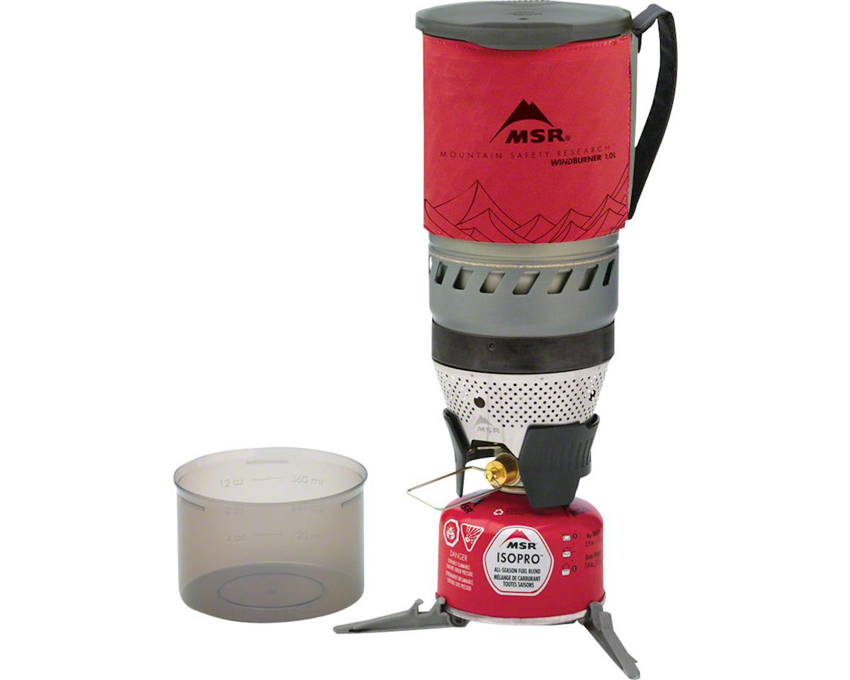 MSR WindBurner 1-Liter Stove System: Red