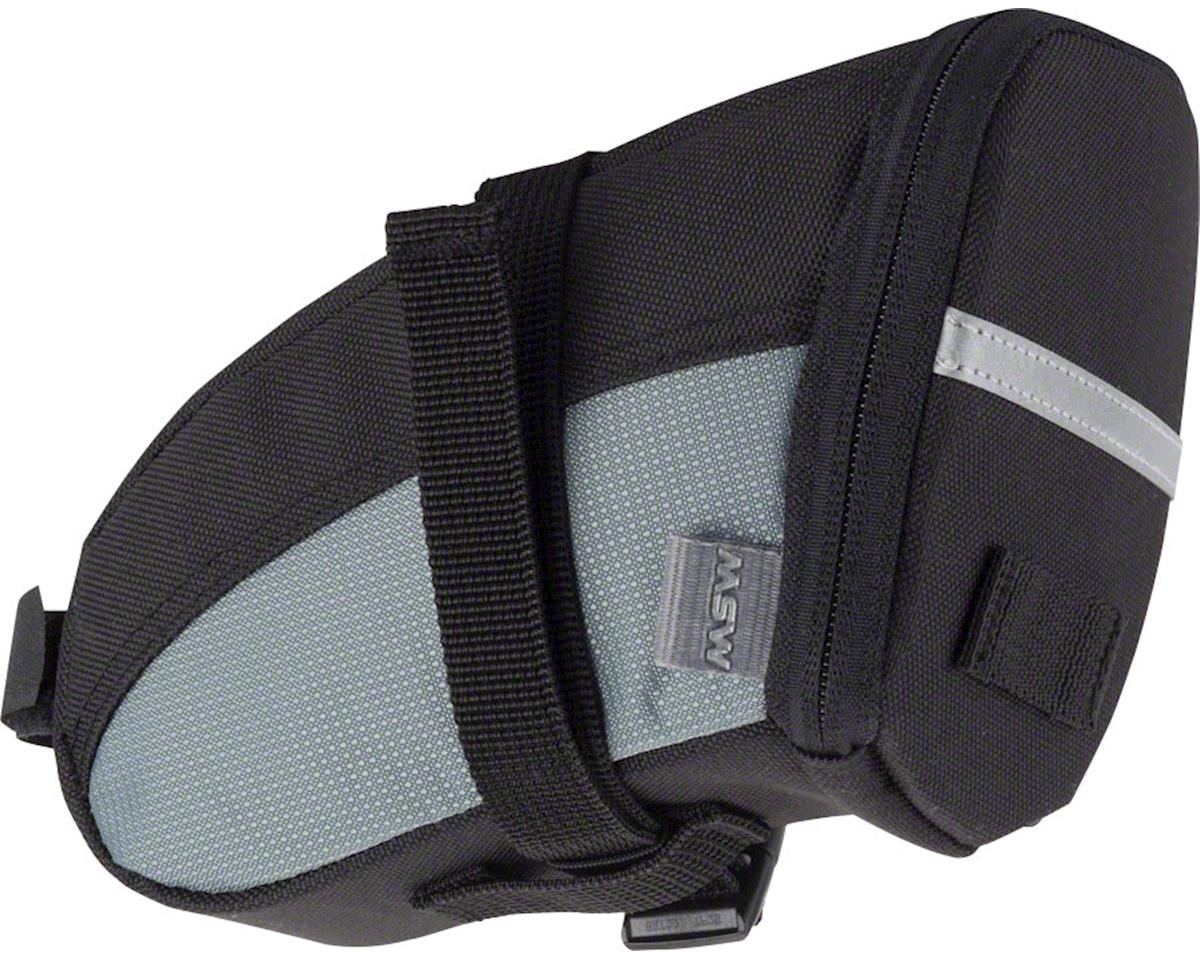 MSW Brand New Bag, SBG-100 Seat Bag, Black/Gray, MD