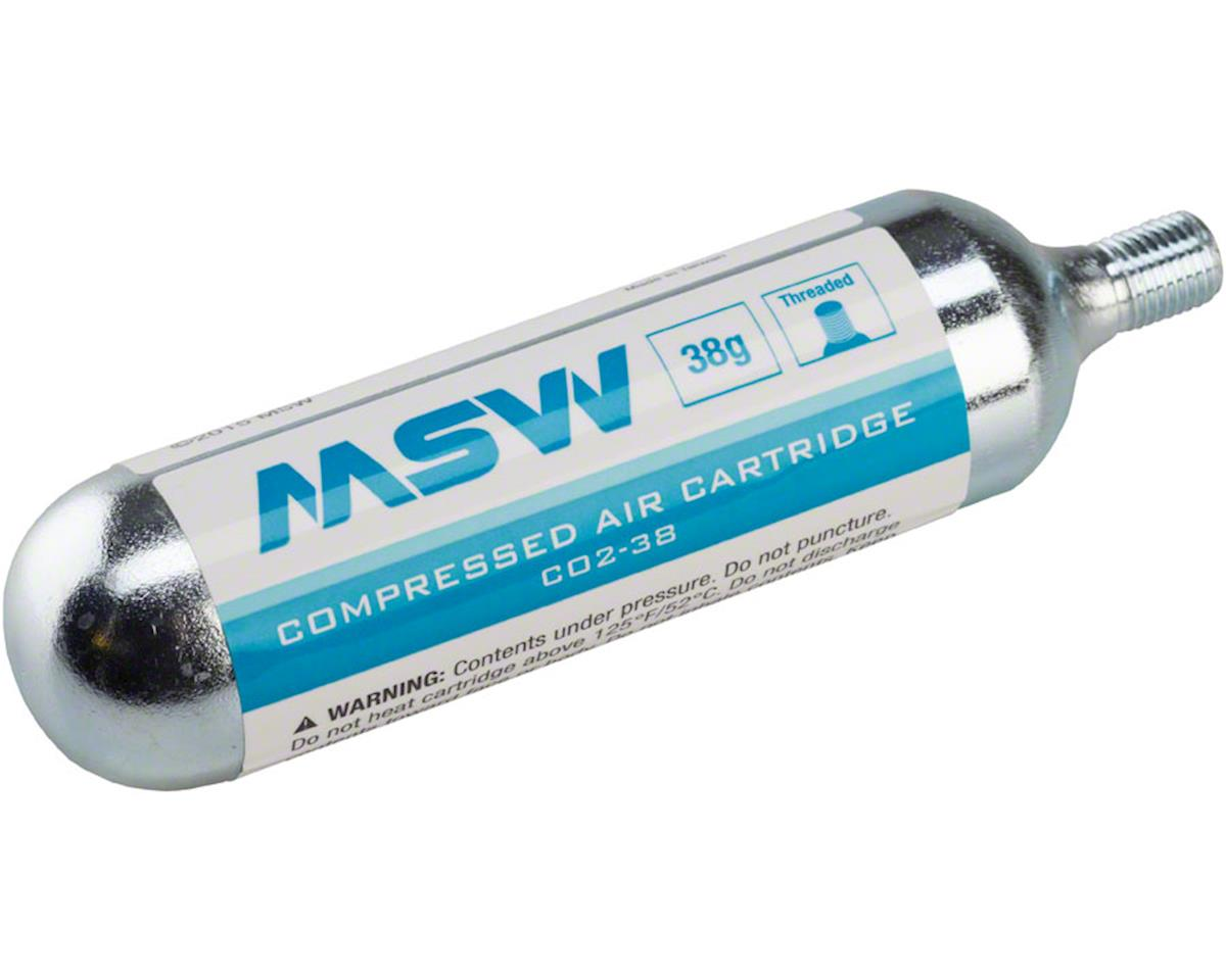 MSW CO2-38 CO2 Cartridge: 38g, Each