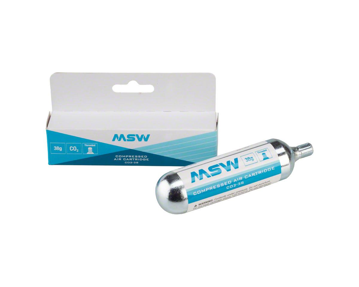 MSW CO2-38 CO2 Cartridge: 38g, Each