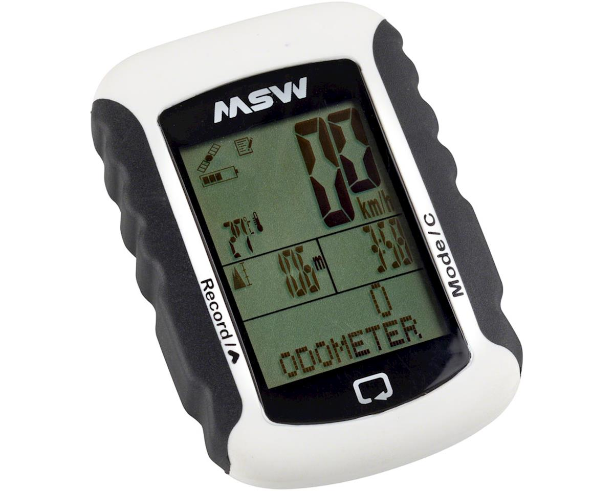MSW GPS-333 Miniac GPS BLE Computer: White