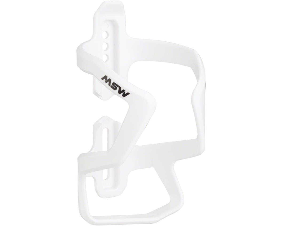 MSW PC-120 Up or Down Water Bottle Cage: White