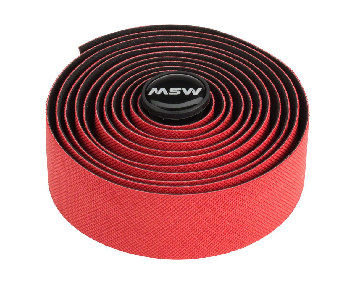 MSW HBT-300 Anti-Slip Gel + Handlebar Tape Red