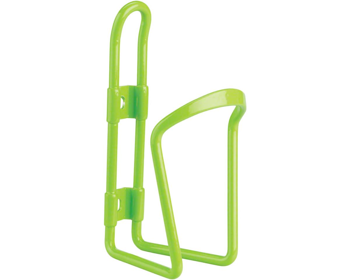 MSW AC-100 Alloy Water Bottle Cage 6mm rod Green