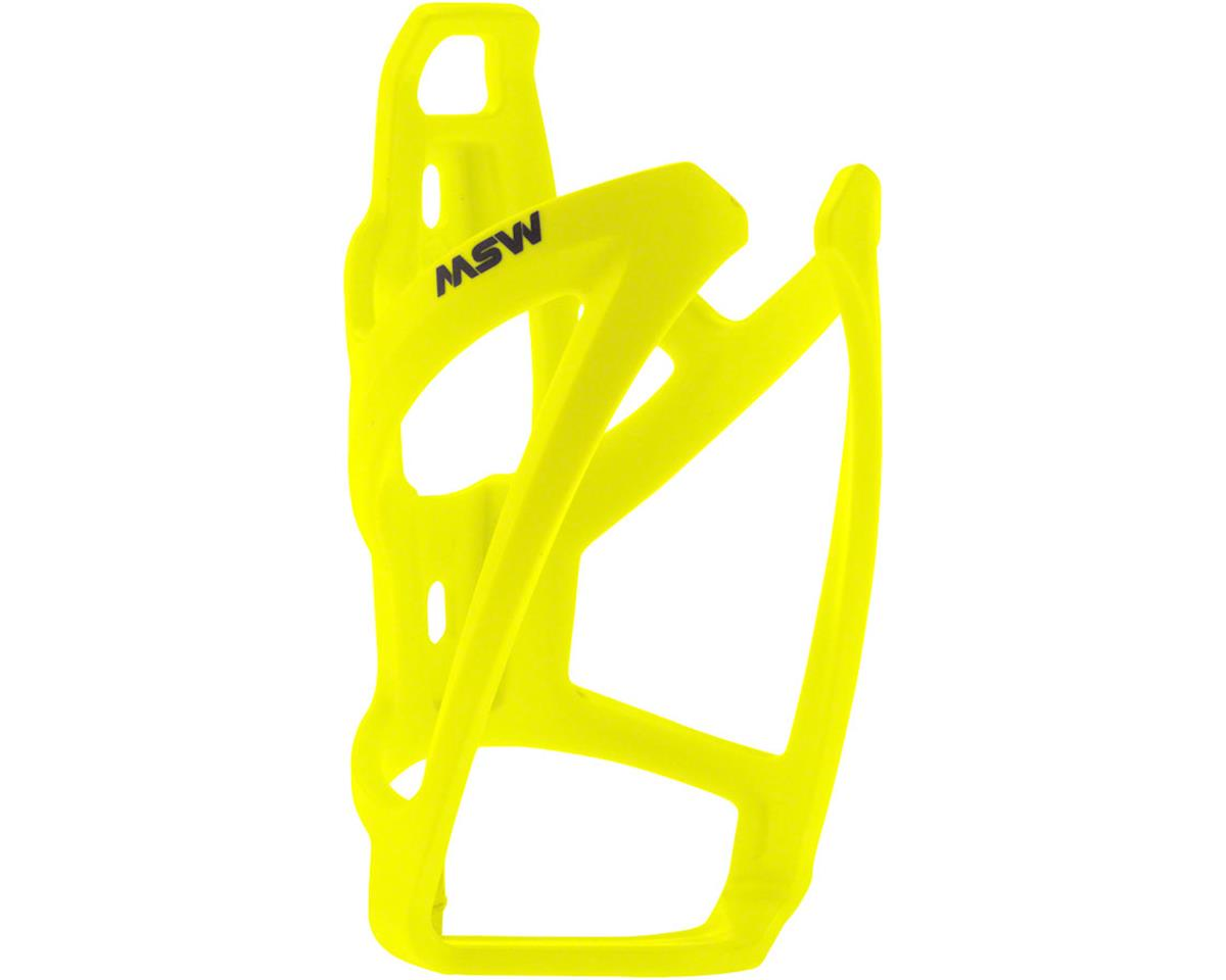 MSW PC-110 Composite Bottle Cage, Neon Yellow