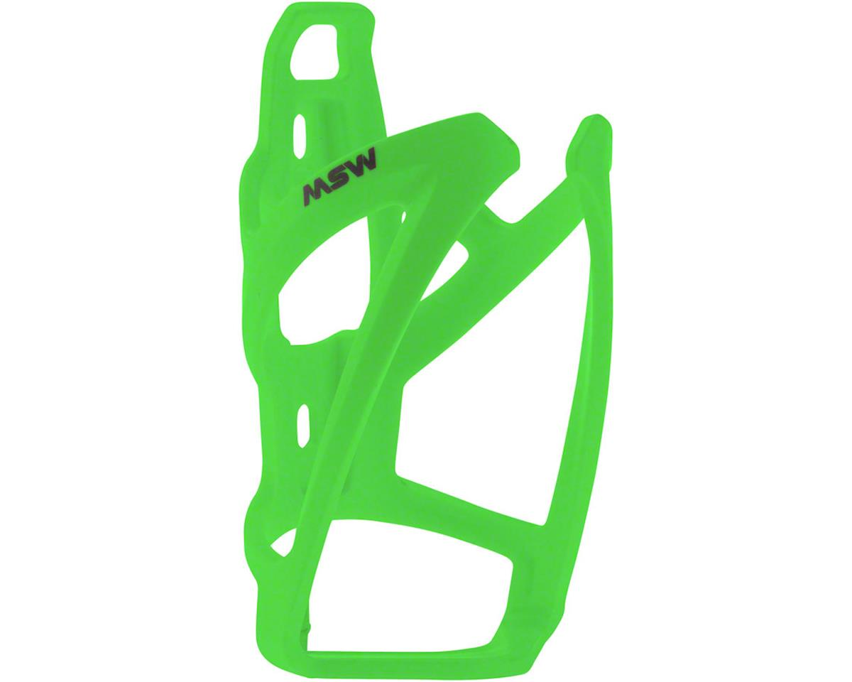 MSW PC-110 Composite Bottle Cage, Neon Green