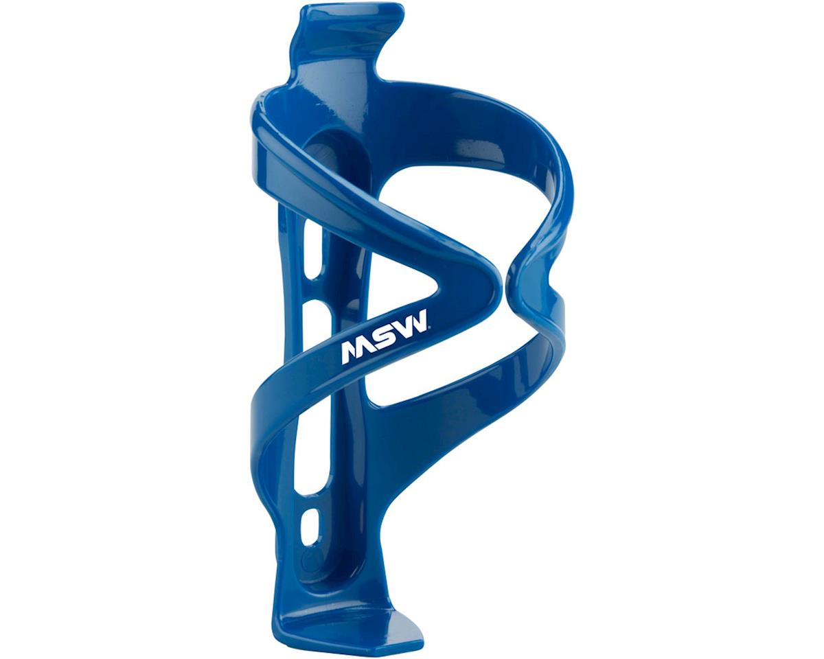 MSW PC-150 Composite Water Bottle Cage Blue