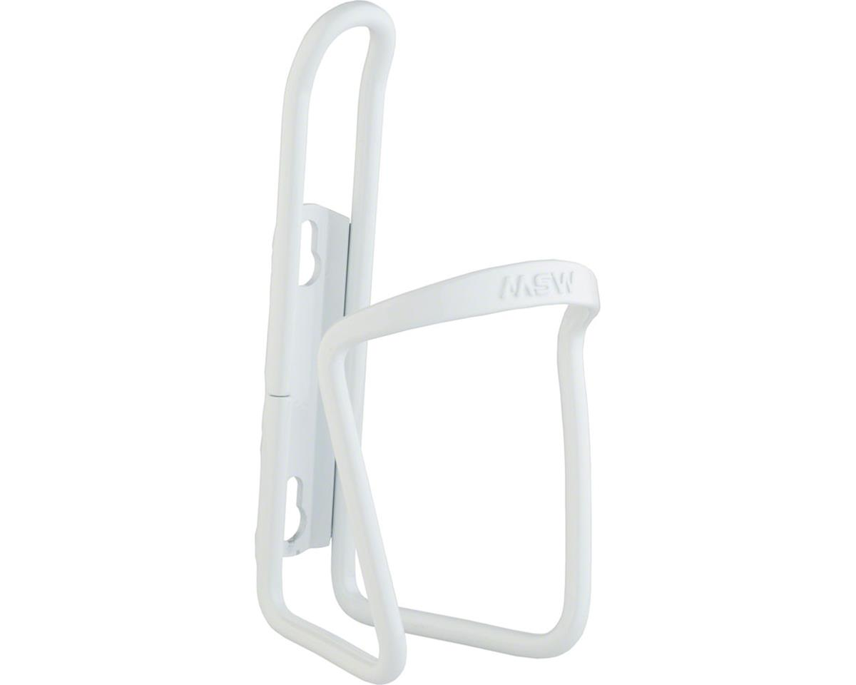 MSW AC-120 Easy Swap Bottle Cage White Powder Coat