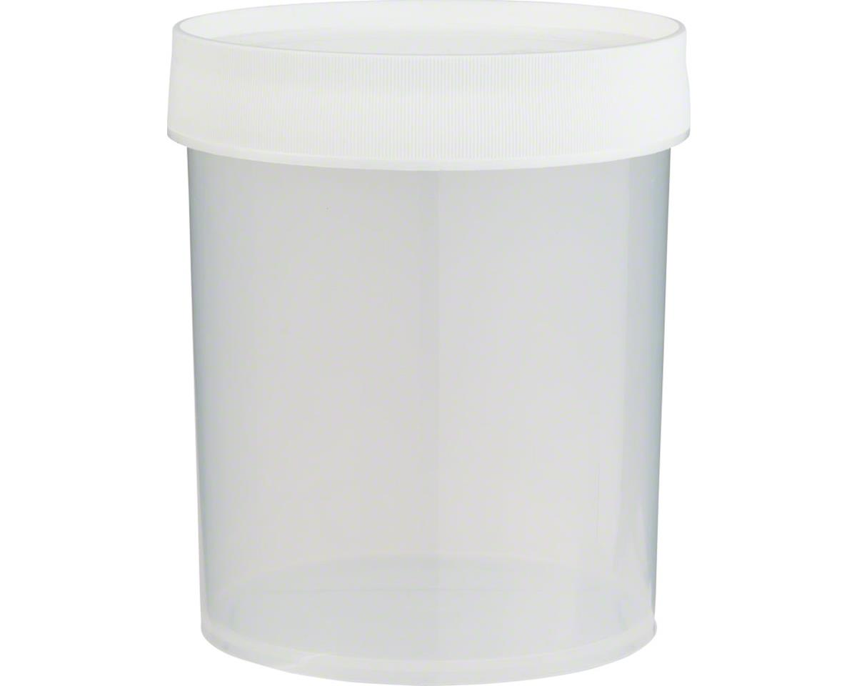 Nalgene Straight Side Jar: 32oz, Clear