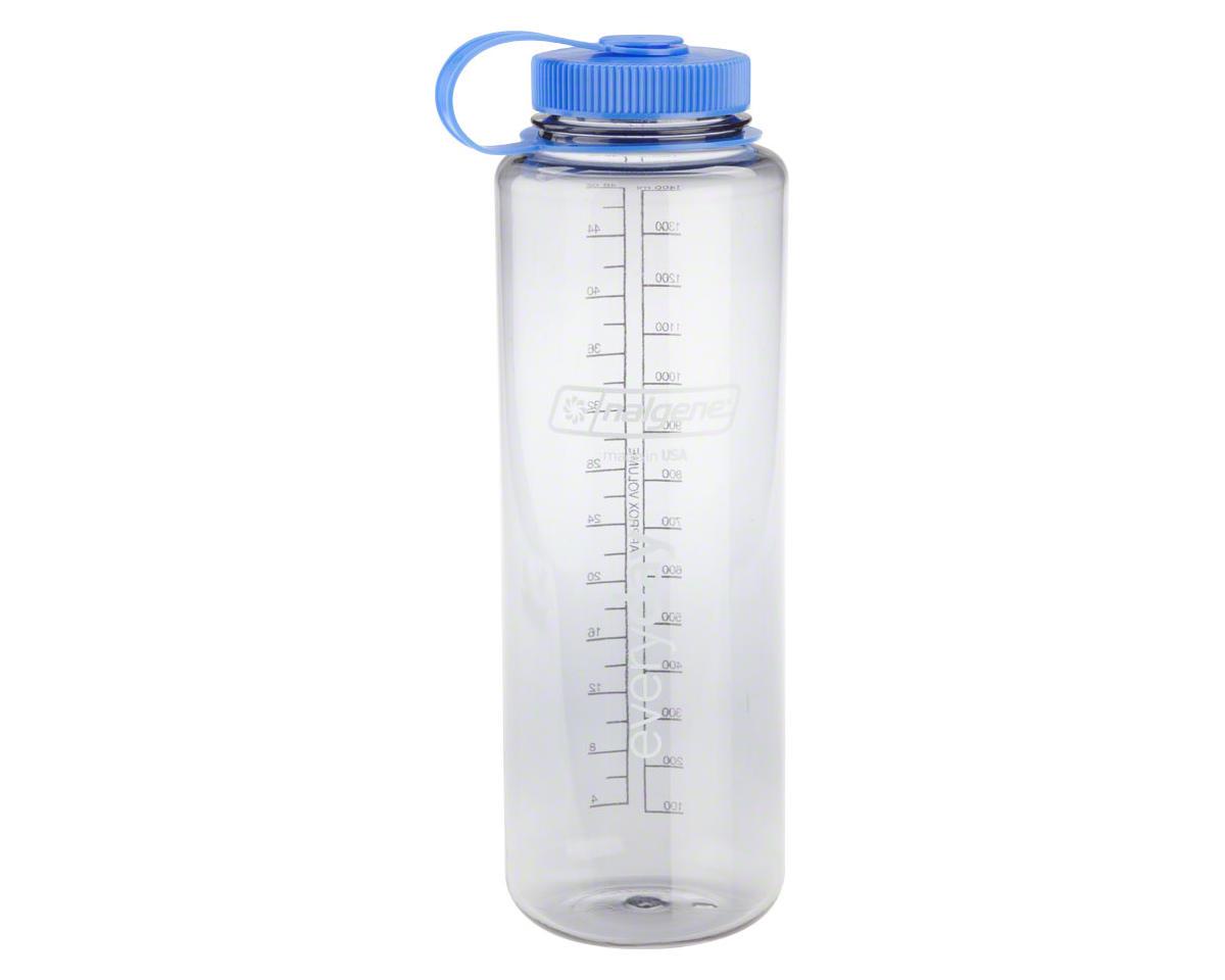 Clear Gray 48oz Nalgene Wide Mouth Water Bottle