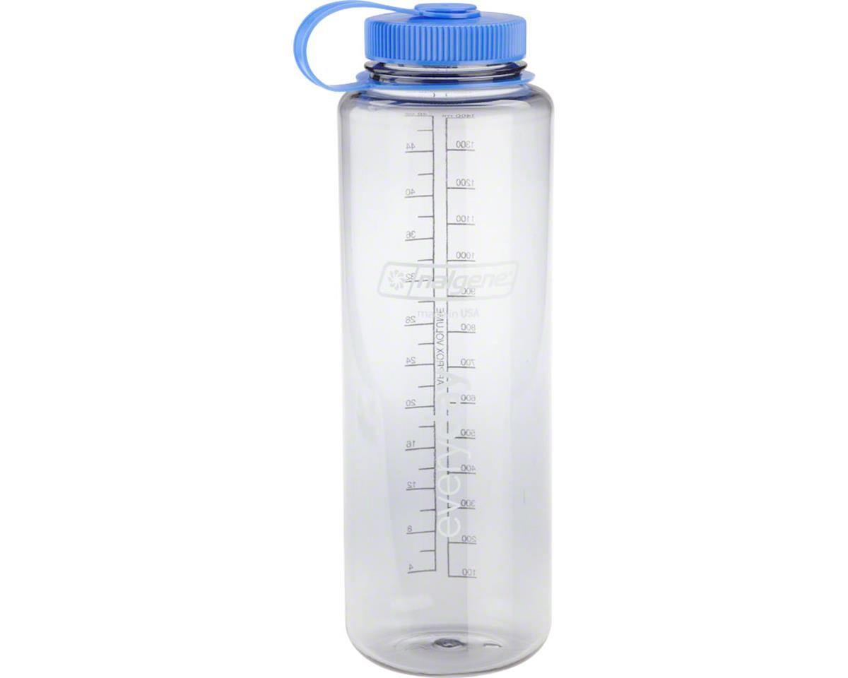Nalgene Wide Mouth Water Bottle (Clear Gray) (48oz)