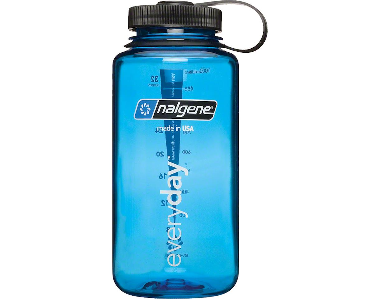 Wide Mouth Water Bottle: 32oz, Blue