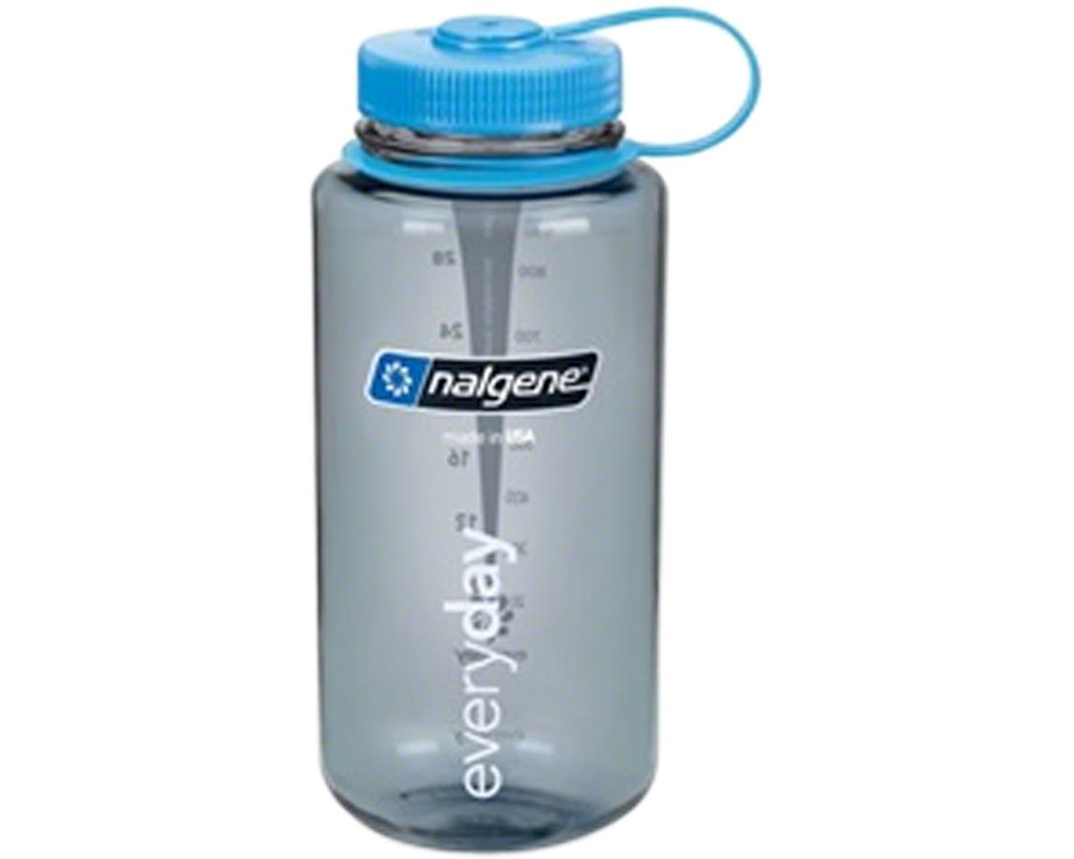 Nalgene Wide Mouth Water Bottle: 32oz, Gray