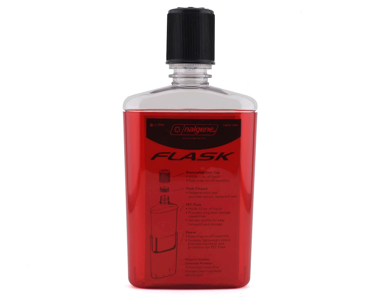 Nalgene Flask (Red w/Black Cap) (12oz)