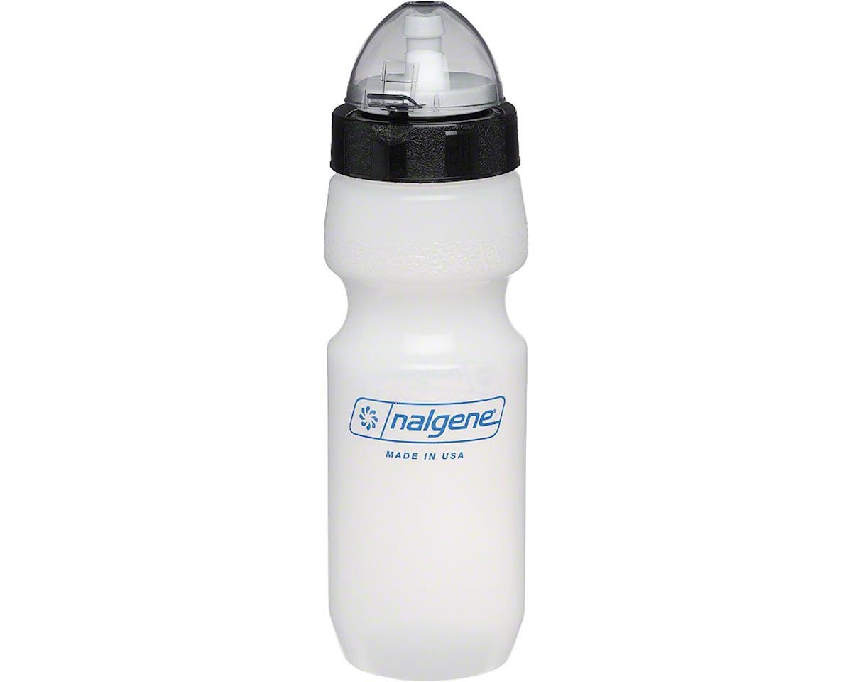 Nalgene All Terrain Water Bottle: 22oz, Clear with Black Cap