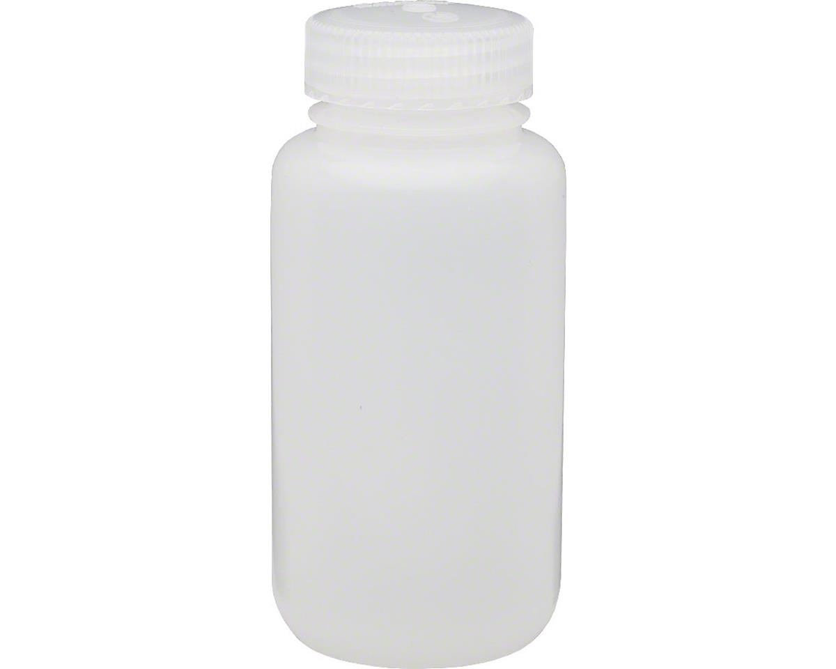 Nalgene HDPE Wide Mouth Container: 8 oz, Clear