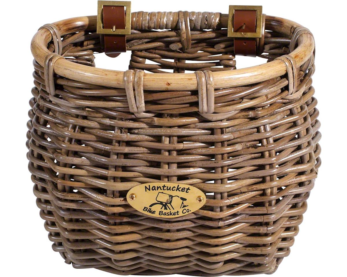 Nantucket Bike Basket Nantucket Tuckernuck Front Basket (Classic Shape Weave)