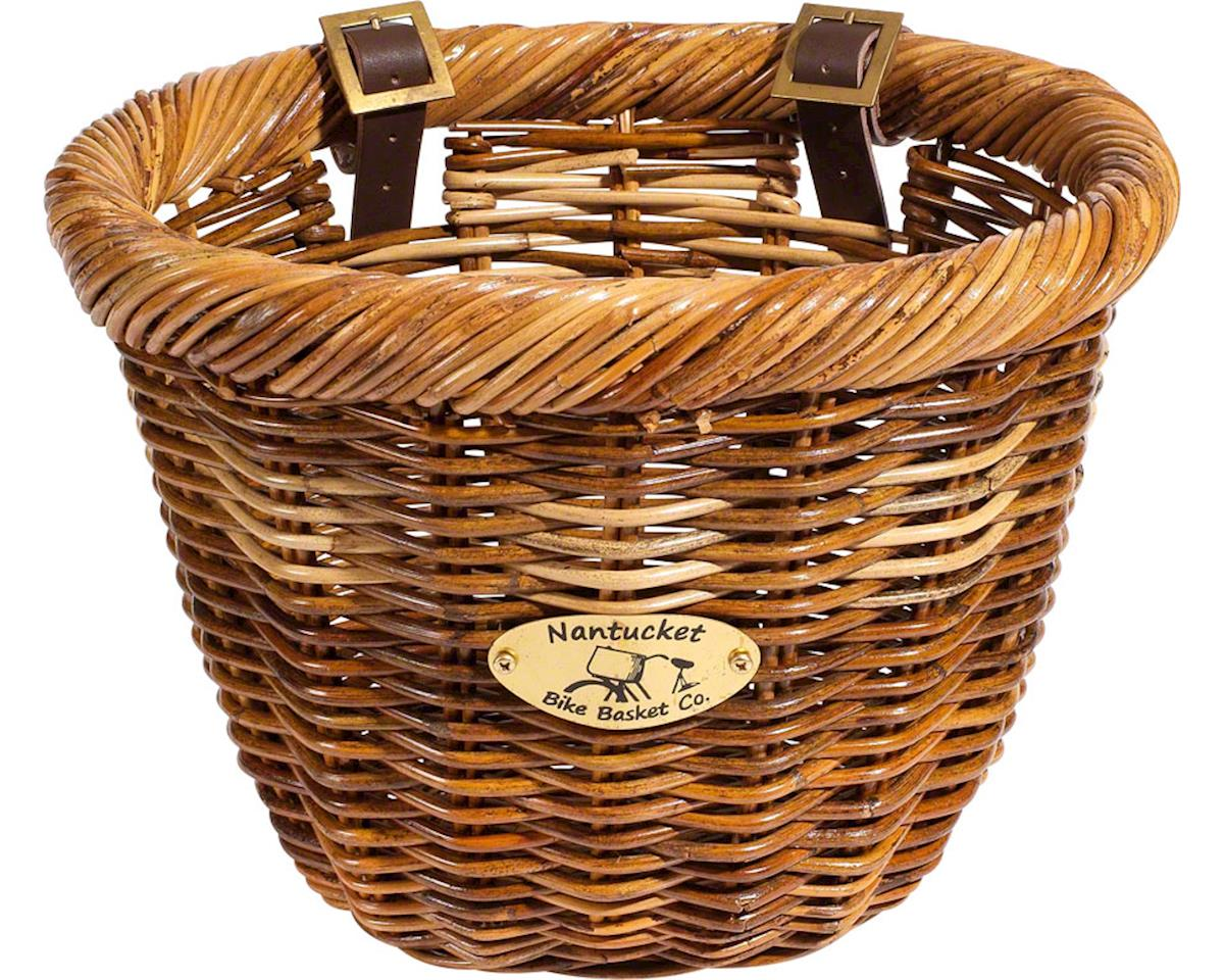 Nantucket Bike Basket Nantucket Cisco Front Basket (Honey) (Oval Shape)