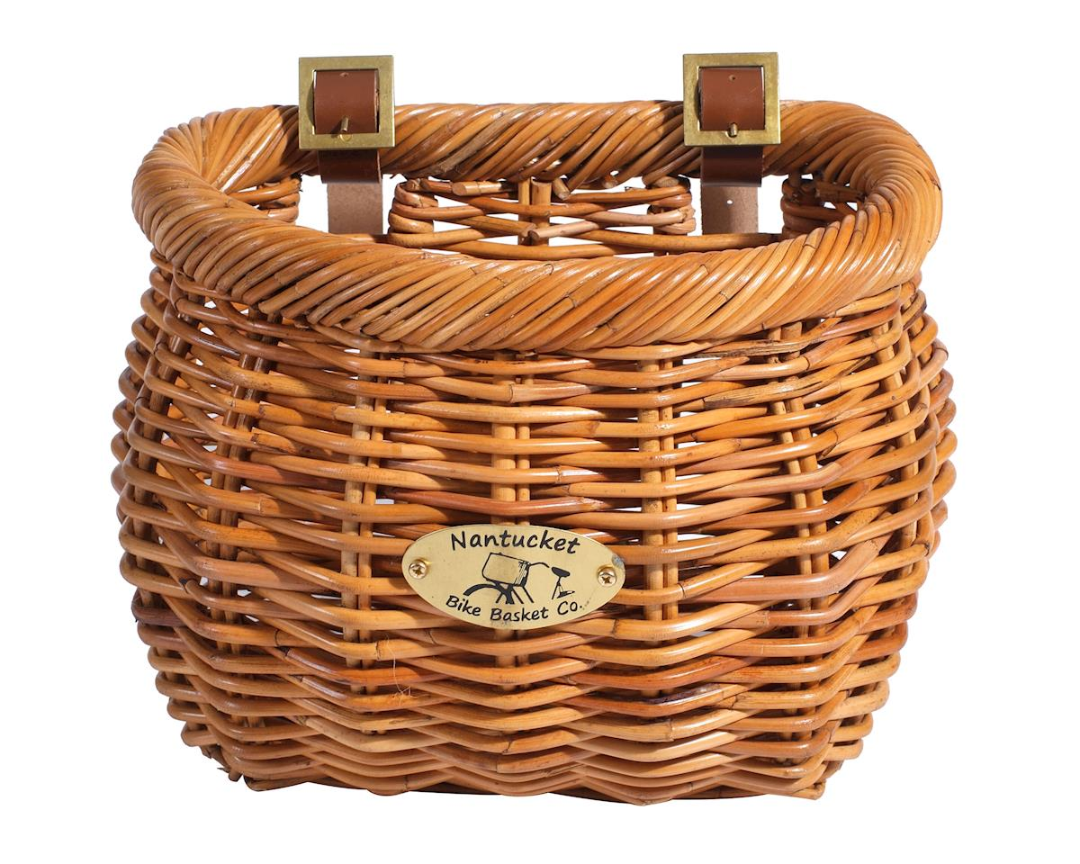Nantucket Bike Basket Nantucket Cisco Front Basket (Honey) (Classic Shape)