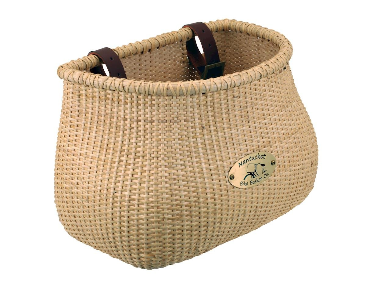 Nantucket Bike Basket Co. Classic Lightship Basket (Natural)