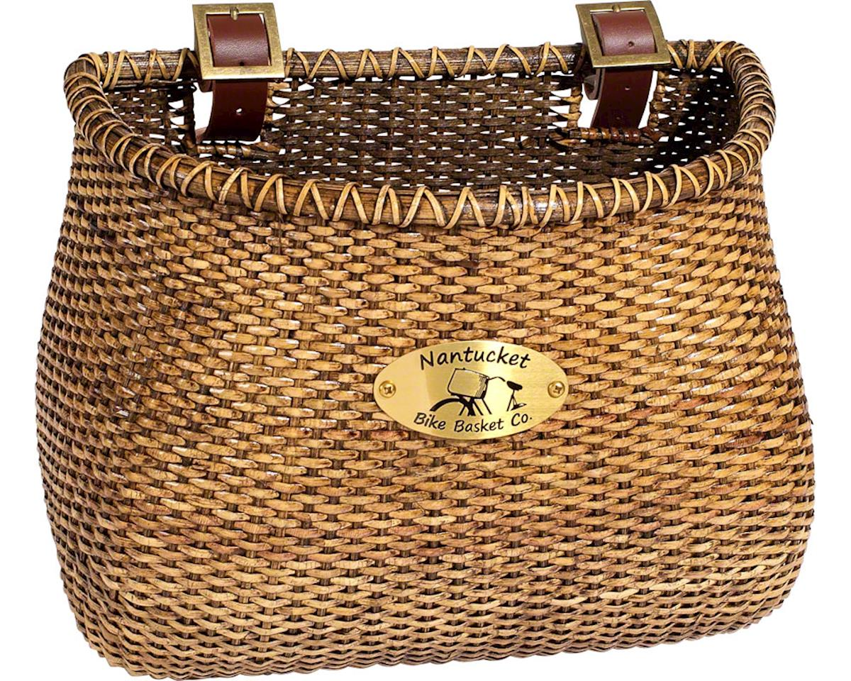 Nantucket Bike Basket Nantucket Lightship Front Basket (Classic Shape) (Stained)