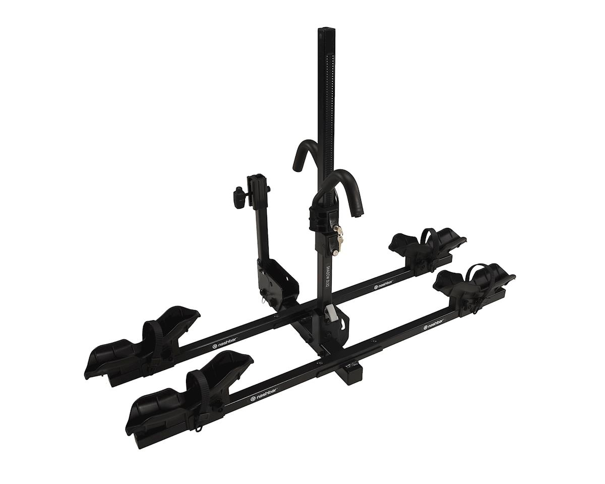 Image 1 for Nashbar Shadow DLX2 2-Bike Hitch Rack