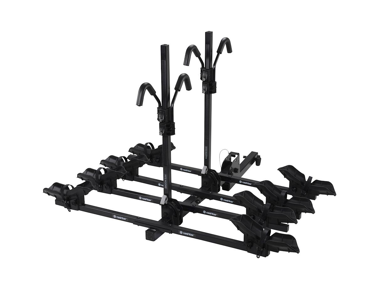 Nashbar Shadow DLX4 4-Bike Hitch Rack