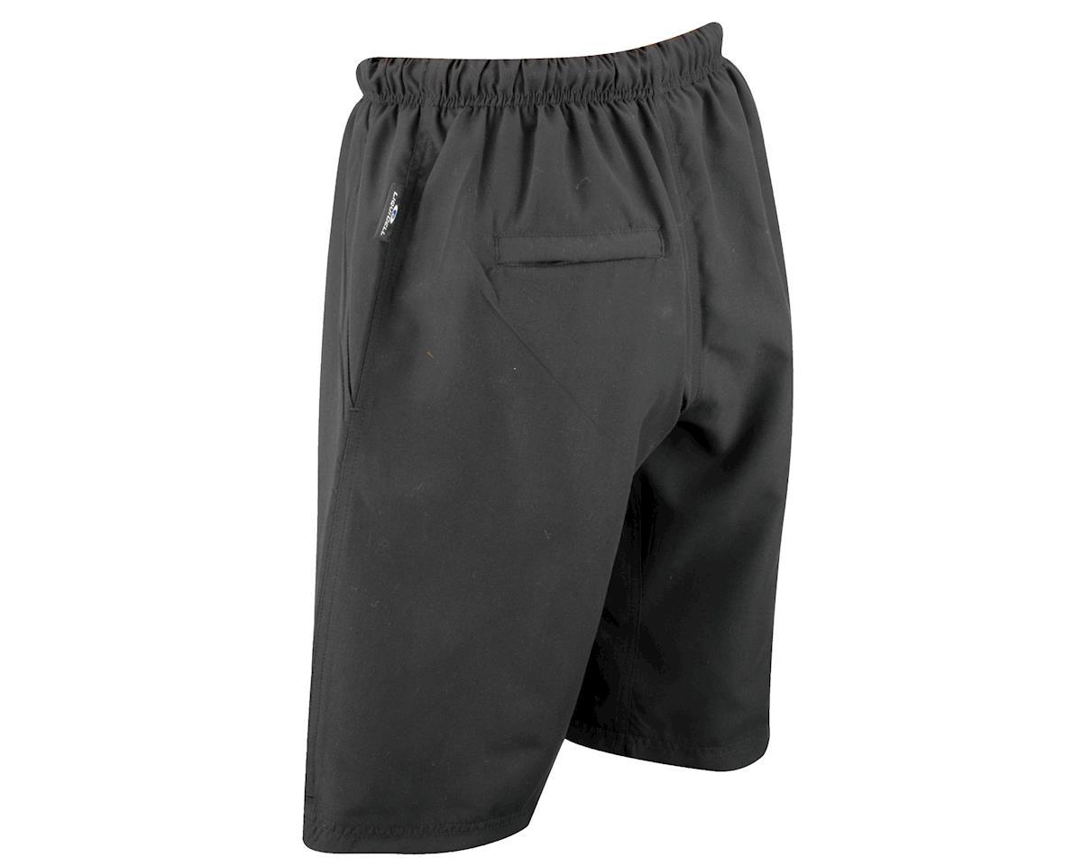 Image 3 for Nashbar Liquicell Sport Baggy Shorts (Black)
