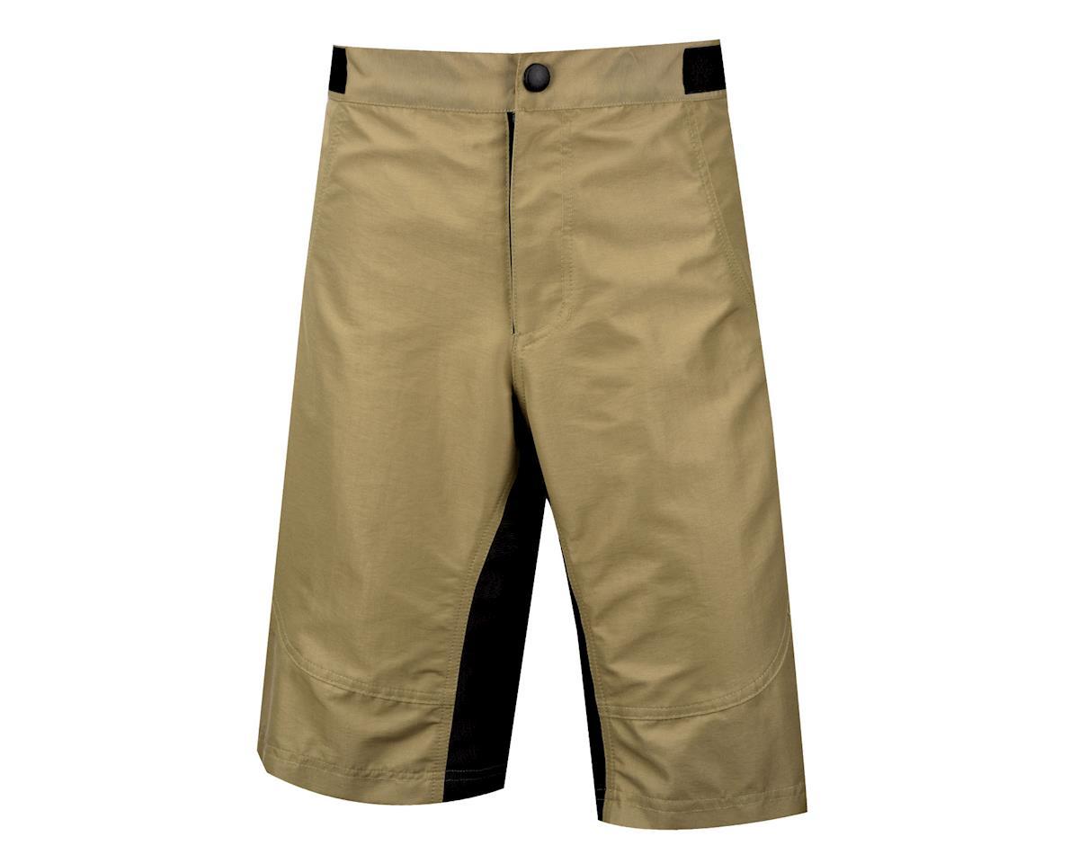 Image 2 for Nashbar Lancaster Baggy Shorts (Tan/Black)