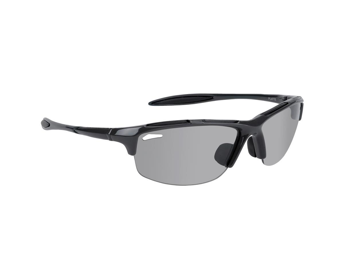 Nashbar Platte Photochromic Sunglasses Translucent Brown