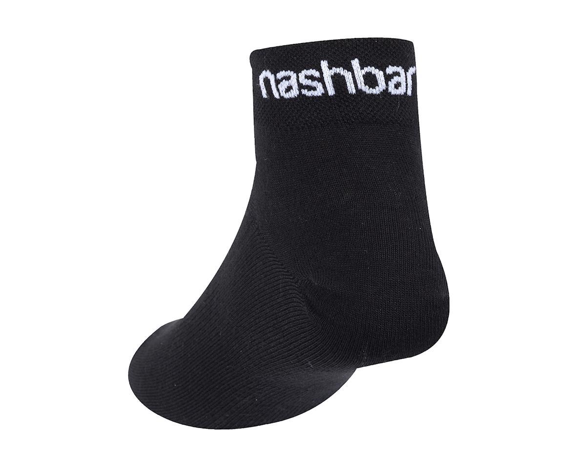 """Image 2 for Nashbar 2"""" Logo Socks (White)"""