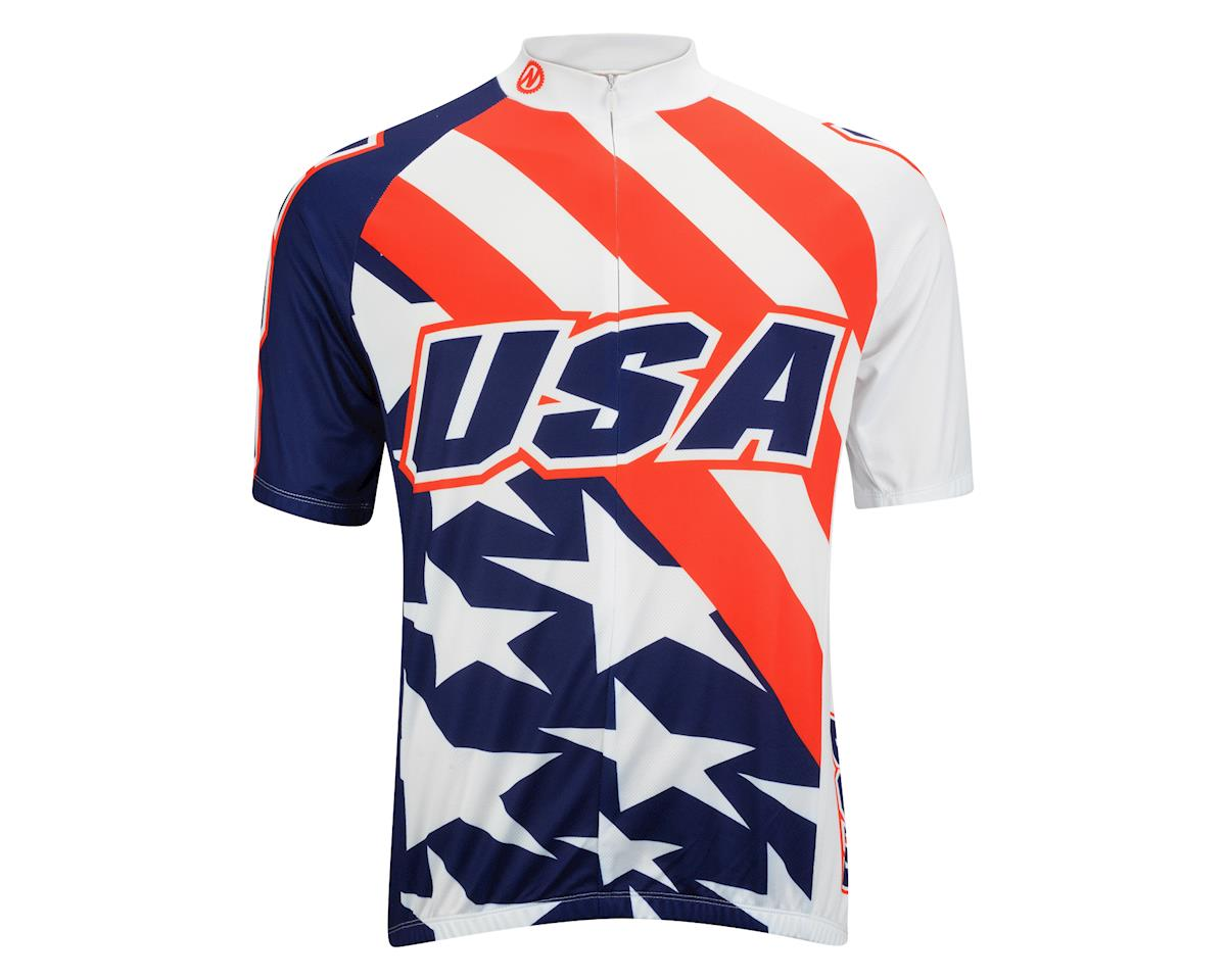 Image 2 for Nashbar USA Jersey (Red/White/Blue)