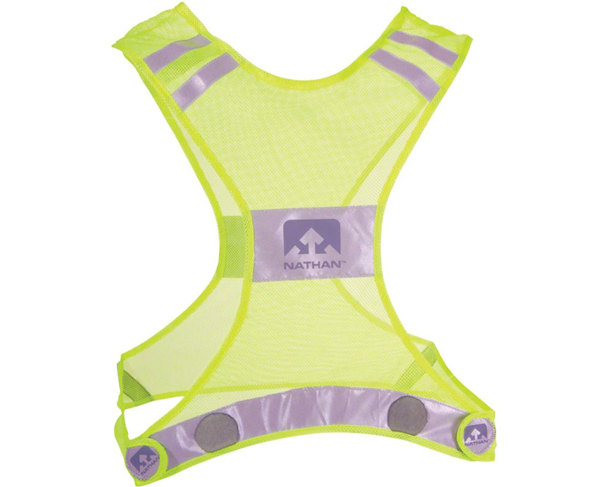 Reflective Streak Vest: SM/MD, Neon Yellow