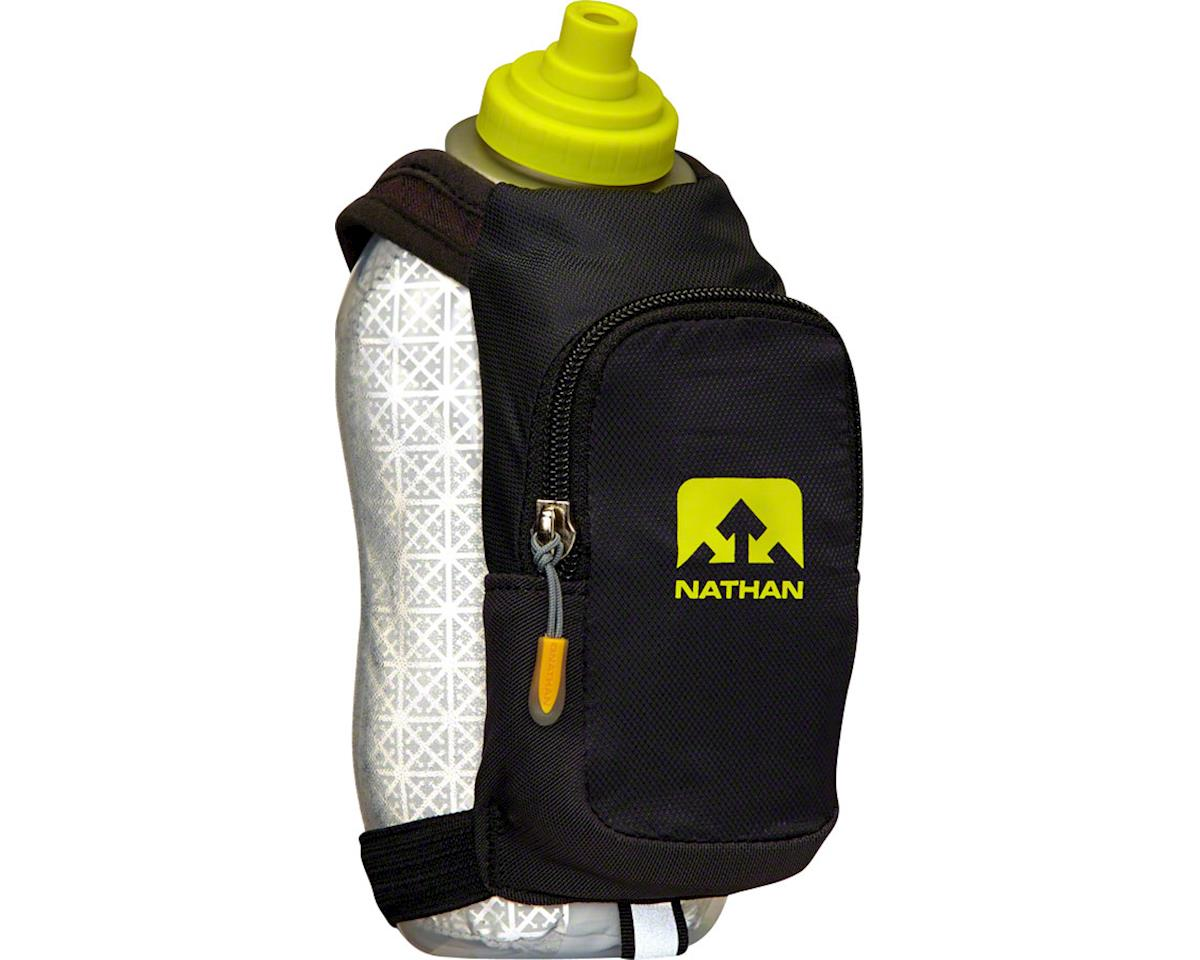 SpeedDraw Plus Insulated Handheld Hydration with 18oz Bottle: Black