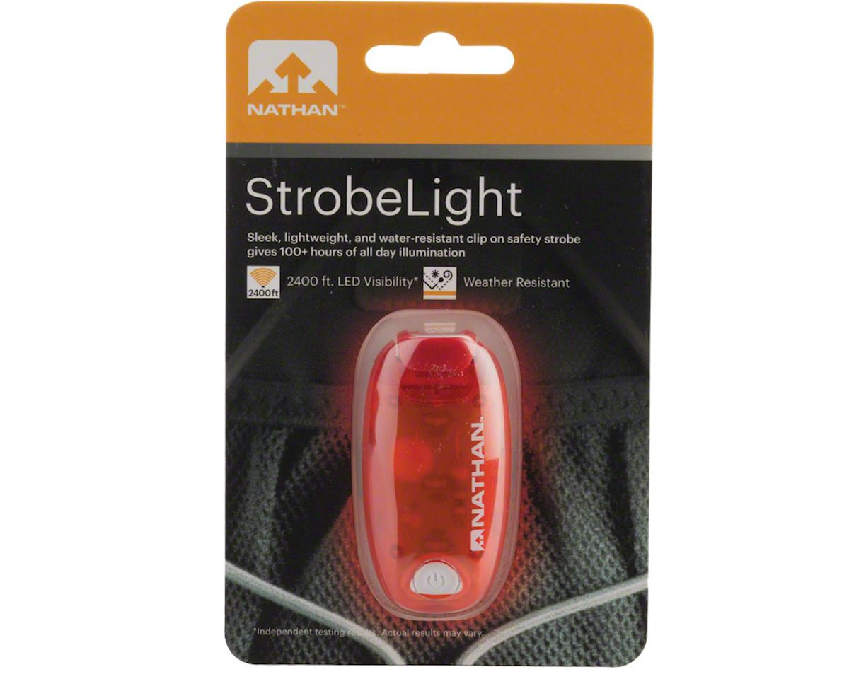 Nathan L.E.D. Safety Strobe Light (Red)