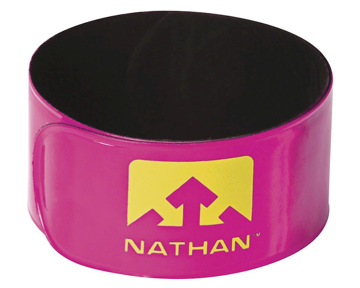 Nathan Reflex Reflective Snap Bands: Pair, Pink