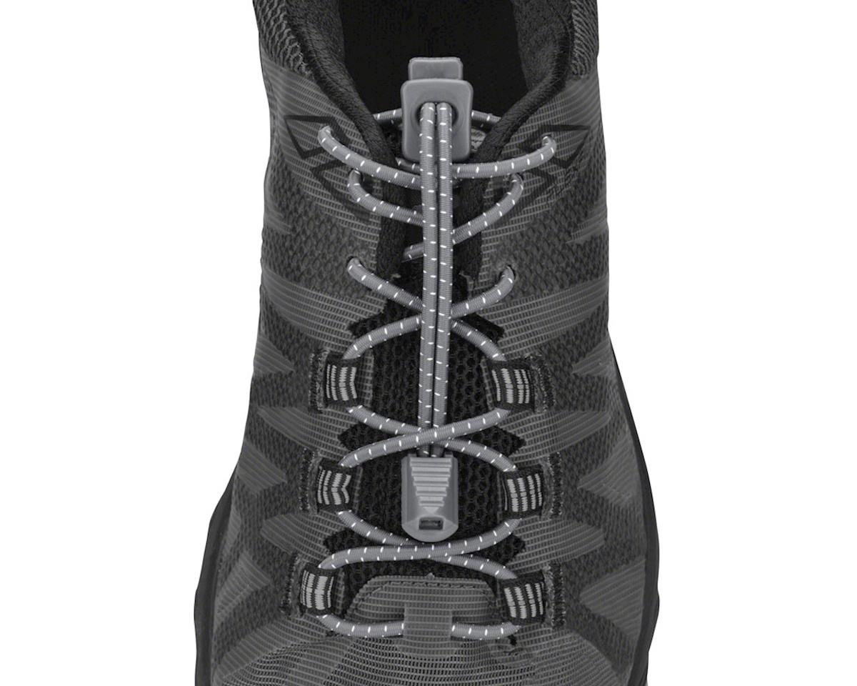 Nathan Run Laces: One Size Fits All, Steel Grey