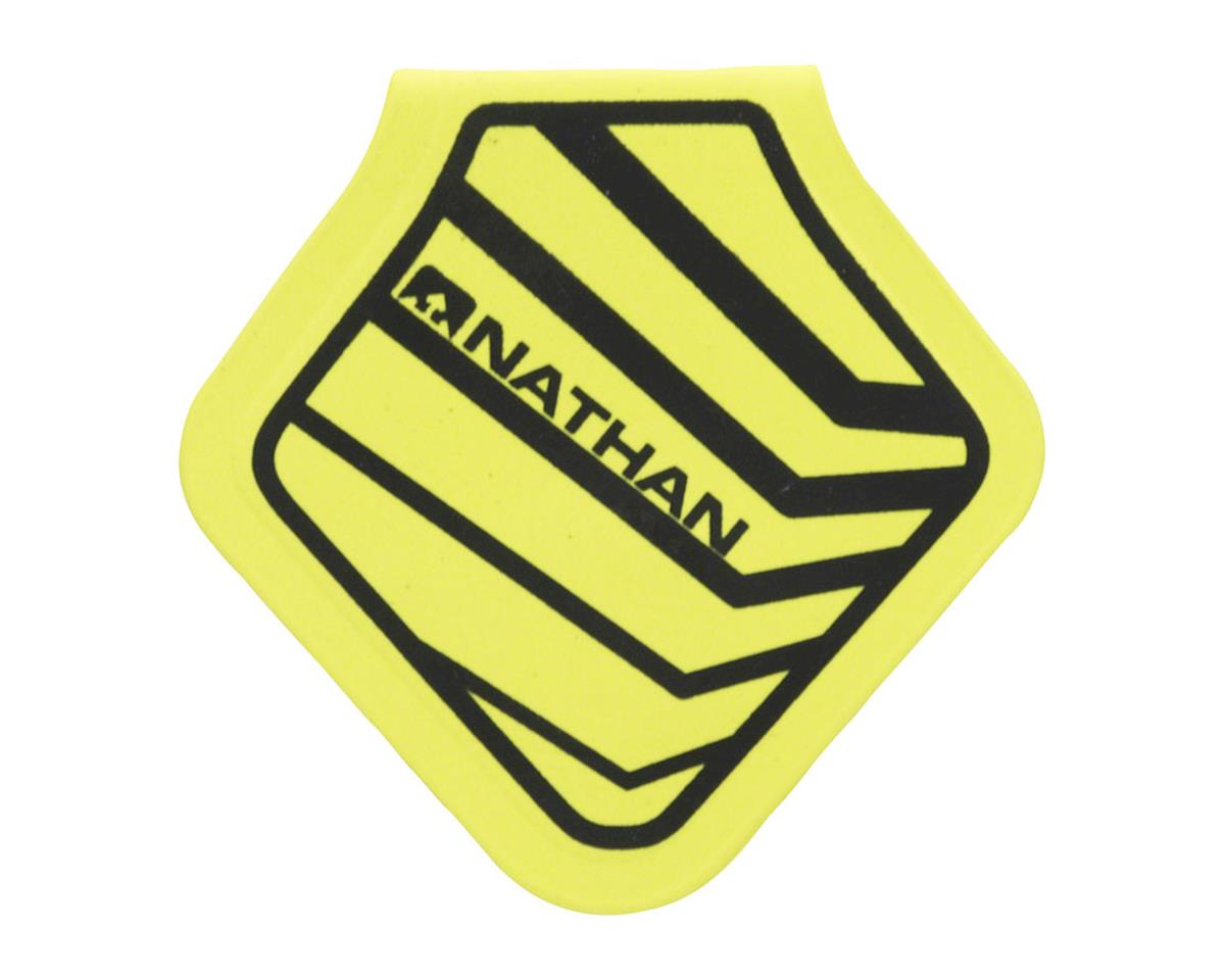 Mag Flash Diamond Reflective Clip-on Patch: Safety Yellow