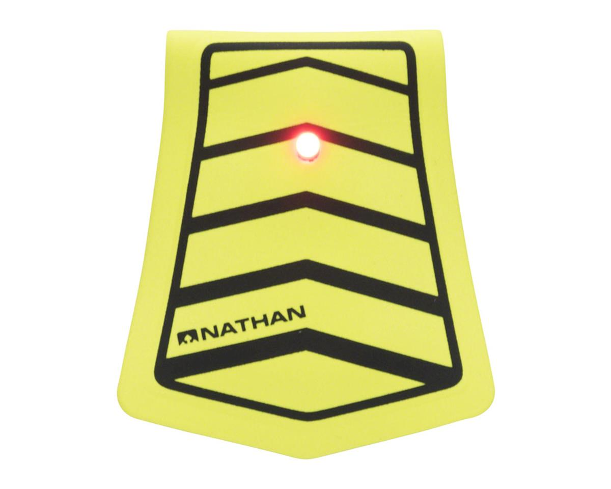 Nathan Mag Strobe Arrows LED Clip-on Light (Black/Safety Yellow)